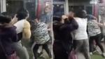 Video: गर्लफ्रेंड संग जिम में मजे कर रहा था पति, पत्नी ने दोनों को रंगे हाथों पकड़कर चप्पलों से धुना