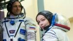 अंतरिक्ष में पहली रूसी फिल्म की शूटिंग हुई पूरी, 12 दिन स्पेस में बिताने के बाद पृथ्वी के लिए हुए रवाना