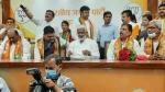 भाजपा में शामिल हुए कांग्रेस, बसपा और सपा के कई नेता, स्वतंत्र देव ने दिलाई सदस्यता
