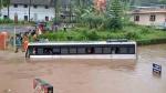 केरल बाढ़: रात में जारी रहेगी बारिश, 105 राहत शिविर लगाए गए, बांधों के लिए जारी हुआ रेड अलर्ट