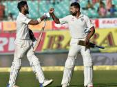धर्मशाला टेस्ट LIVE: जीत के करीब टीम इंडिया