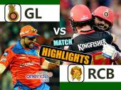Highlights: एरोन फिंच के बल्लेबाजी के आगे नतमस्तक हुई RCB