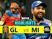 Highlights:बुमराह की गेंदबाजी के आगे ढेर हो गए गुजरात के शेर