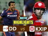 Highlights: संदीप शर्मा के आगे डेयरडेविल्स ने टेके घुटने