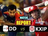#KXIPvsDD: दिल्ली की खराब शुरूआत, संदीप शर्मा ने लिए 3 विकेट