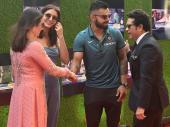कोहली, अनुष्का के साथ टीम इंडिया ने देखी सचिन की बायोपिक