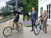 वेस्टइंडीज में जडेजा ने चलाई साइकिल,पीएम मोदी को कहा थैंक्यू