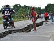 फिलीपींस भूकंप में मृतकों की संख्या 161 हुई
