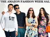 Amazon fashion week: फैशनेबल कपड़ों पर 80% तक की छूट, जल्दी कीजिये