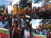 भारत बंद के दौरान पश्चिम बंगाल में हिंसक झड़प, पब्लिक ट्रांसपोर्ट पर लगा ब्रेक