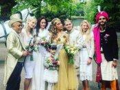 ग्लैमरस मॉडल से नन बनने वाली सोफिया हयात ने की शादी, देखें तस्वीरें