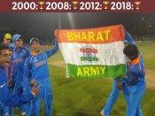 #U19WC: टीम इंडिया के सभी खिलाड़ियों को 30 लाख देगा BCCI, राहुल द्रविड़ को 50 लाख