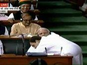 पीएम मोदी के गले अचानक नहीं लगे राहुल, कई महीने से चल रही थी प्लानिंग