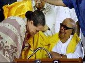 सोनिया गांधी ने स्टालिन को लिखी भावुक चिट्ठी, कहा- मेरे लिए पिता समान थे करुणानिधि