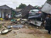 इंडोनेशिया सुनामी: ज्वालामुखी फटने की वजह से आई तबाही में अब तक 281 लोगों की मौत, सुषमा स्वराज ने जताया दुख