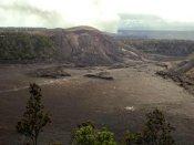 बैरियर को पार कर युवक 70 फीट गहरे ज्वालामुखी में जा गिरा