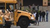 स्कूल बस में सो गया बच्चा, भीषण गर्मी में दम घुटने से हो गई मौत