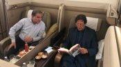 'खटारा' जेट खराब होने के बाद मजबूरी में इमरान खान को कमर्शियल फ्लाइट से लौटना पड़ा पाकिस्तान