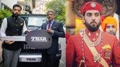 जानिए कौन हैं उदयपुर प्रिंस लक्ष्यराज सिंह मेवाड़ जिन्हें Thar 700 कार की चाबी देने खुद आनंद महिन्द्रा पहुंचे