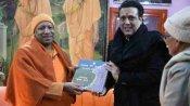 बाबा गोरखनाथ के दर्शन करने पहुंचे बॉलीवुड स्टार गोविंदा, CM योगी आदित्यनाथ से भी की मुलाकात