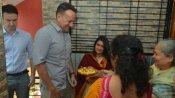 महाराष्ट्र के गांव वराड पहुंचे आयरलैंड के पीएम लियो वराडकर, पूरे खानदान के साथ किया गांव का दौरा