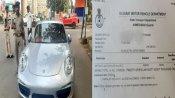 OMG: अहमदाबाद में कटा अब तक का सबसे भारी भरकम चालान, कार पर लगा 27.68 लाख रुपए का जुर्माना