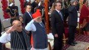पहली बार देशभर के 105 टॉपर्स बने 71वें गणतंत्र दिवस के गवाह, पीएम मोदी के साथ बैठकर देखी परेड