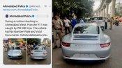 भारत में यहां कार पर लगा सबसे ज्यादा 27.68 लाख का जुर्माना, कागजात और नंबर प्लेट नहीं थे