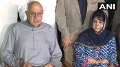 विपक्षी दलों ने जारी किया साझा बयान- महबूबा, उमर, फारूक अब्दुल्ला को तुरंत रिहा करने की मांग