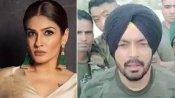 भारतीय सेना को अपशब्द कहने वाले ट्विटर यूजर पर भड़कीं रवीना टंडन, जमकर लगाई लताड़