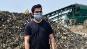 गाजीपुर कचरे के पहाड़ पर पहुंचकर गौतम गंभीर ने केजरीवाल सरकार पर साधा निशाना