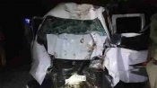 बहराइच: हाईवे किनारे पेड़ से टकराई बेकाबू कार, चार की मौत, छह लोग घायल