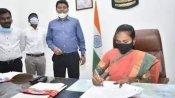 आंध्र प्रदेश: एक दिन के लिए कलेक्टर बनीं मजदूर की बेटी श्रावणी, जावड़ेकर ने ट्वीट कर कही ये बात