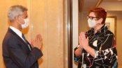 Quad: टोक्यो में एस जयशंकर और ऑस्ट्रेलिया की विदेश मंत्री की मीटिंग, कहा-भारत से दोस्ती है खास