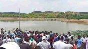 आंध्र प्रदेश: खनन के लिए खोदे गए गड्ढे में भरे पानी में डूबने से तीन बच्चों की मौत