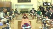 दिल्लीः भारत-अमेरिका के बीच 2+2 मंत्रीस्तरीय बैठक जारी, माइक पोम्पिओ ने चीन को लेकर कही बड़ी बात