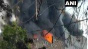 पंजाब: लुधियाना स्थित स्क्रैप गोदाम में लगी भीषण आग, मौके पर दमकल की गाड़ियां मौजूद