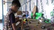 लॉकडाउन में आठवीं के छात्र ने सीखा LED बल्ब बनाना, कंपनी शुरू कर चार लोगों को दिया रोजगार