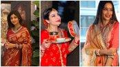 Karwa Chauth: शिल्पा से लेकर रवीना तक सबने पति की लंबी उम्र के लिए रखा करवा चौथ, देखें तस्वीरें