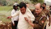 किसान को कॉलर पकड़कर खींच ले गए इंस्पेक्टर, खेत में पराली जलाने पर 5 को गिरफ्तार कर भेजा जेल