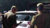 मैनपुरी: भाजपा नेता की कार पर हमलावर ने बरसाईं गोलियां, गनर हुआ घायल