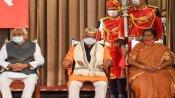 क्या सुशील मोदी के चलते इतने असहज हो गए नीतीश, तारकिशोर-रेणु देवी के स्वागत के लिए भी नहीं उठे