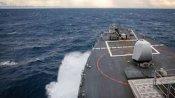 Taiwan Strait से गुजरे दो US वॉरशिप, भड़के चीन ने कहा- ताकत दिखा रहा अमेरिका