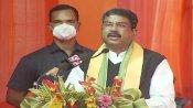 धर्मेंद्र प्रधान का कांग्रेस पर निशाना, मनमोहन सरकार से बेहतर स्थिति में हैं आज किसान