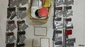 यूपी में हरियाणा पुलिस ने किया असलाह निर्माण फैक्ट्री का भंडाफोड़, भारी मात्रा में हथियार जब्त, 4 धरे