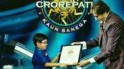 कौन बनेगा करोड़पति: डेढ़ करोड़ बच्चों में से गुजरात के 14 साल के अनमोल अमिताभ के शो में पहुंचे, 25 लाख जीते