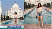 पंजाबी कुड़ी Parul Gulati ने ताजमहल में कराया फोटोशूट, क्या अपने देखीं है तस्वीरें