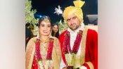 कबड्डी के स्टार प्लेयर राहुल चौधरी ने पायलेट हिताली से की शादी, हेलिकॉप्टर से गांव लेकर पहुंचे अपनी दुल्हनिया