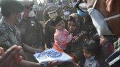 शहीद विकास सिंघल को दी गई अंतिम विदाई, CRPF की ओर से परिवार को एक करोड़ रुपए देने की घोषणा