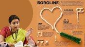 केंद्रीय मंत्री स्मृति ईरानी ने Boroline क्रीम का एक दिलचस्प ग्राफिक किया शेयर,जानें क्यों